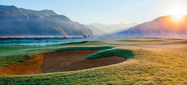Golf Club Eppan: The blue monster